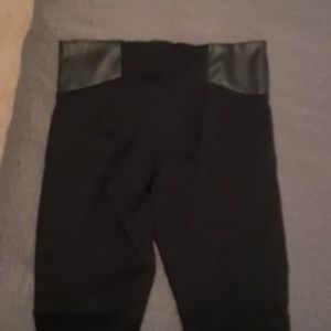 Bebe biker leggings
